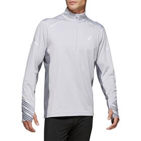 asics Lite-Show Zimowa bluza z długim rękawem i zamkiem błyskawicznym 1/2 Mężczyźni, piedmont grey/metropolis